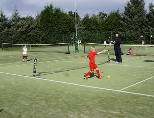 Summer tennis coaching